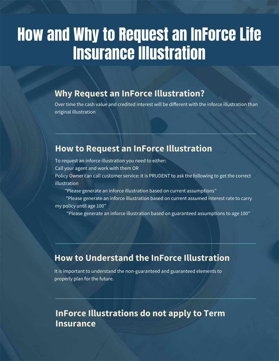 How & Why to Request an InForce Life Insurance ...