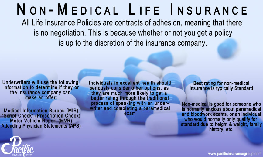 Non-Medical Life Insurance - Pacific Insurance Group
